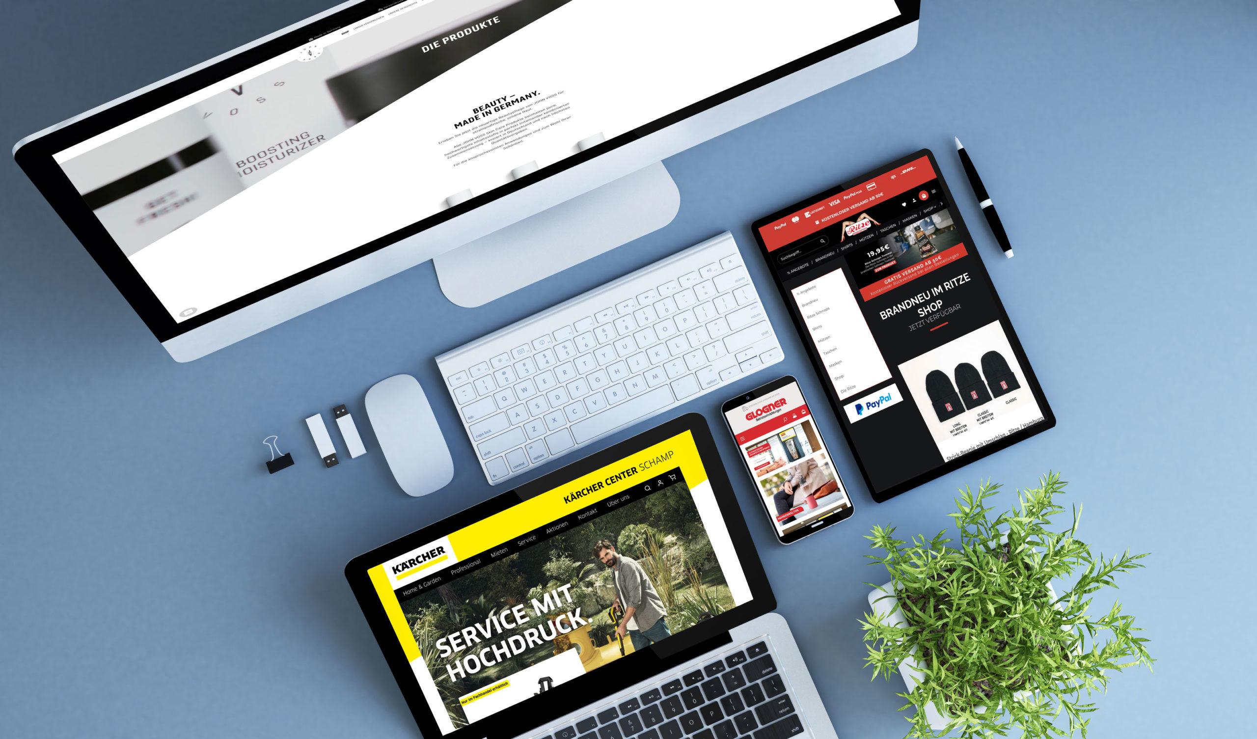 Websiten auf allen Medien optimiert